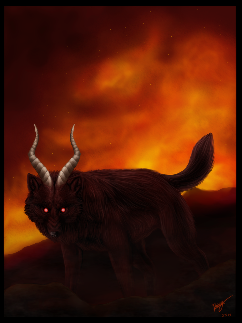 Wolf Demon by Kiuuki
