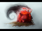 Sinkah - Fire Korcs Red Wolf
