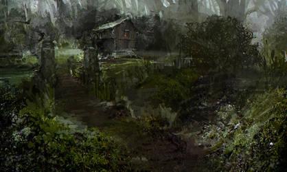 Hous on a swamp