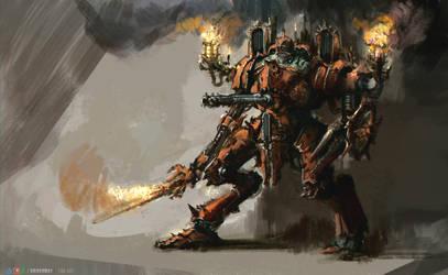 Chaotic battle suit