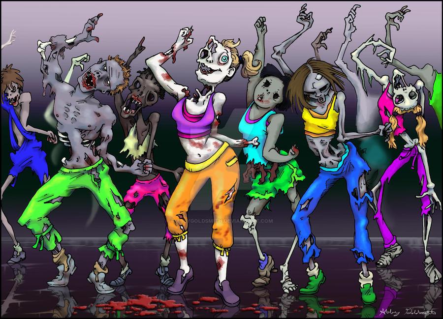 Fried Zombie Dee-Light! by AbbyGoldsmith