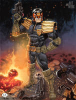 Judge Dredd by OZartwork