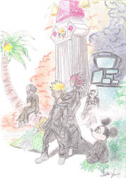 Kingdom Hearts 358/2 Days by jayronray