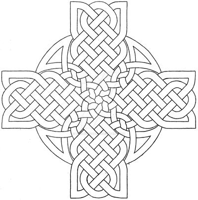 Celtic Cross Design 3 By Baalthezzar On Deviantart