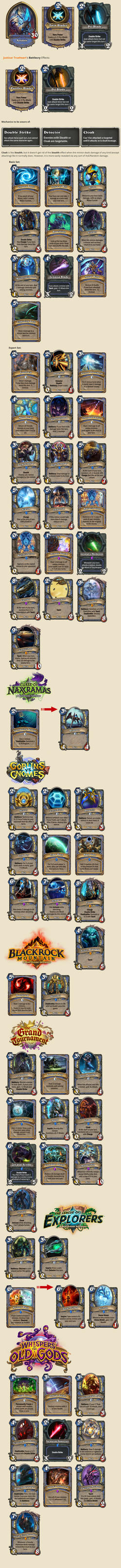 Hearthstone Craft Old Cards