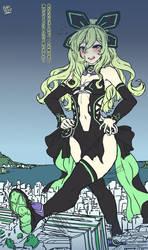 Chika Hakozaki (GTS) - [NepNep Fanart] by EmBeRNaGa