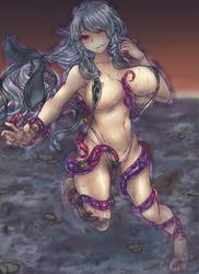 Darkness Destruction- [CG Drawing] by EmBeRNaGa