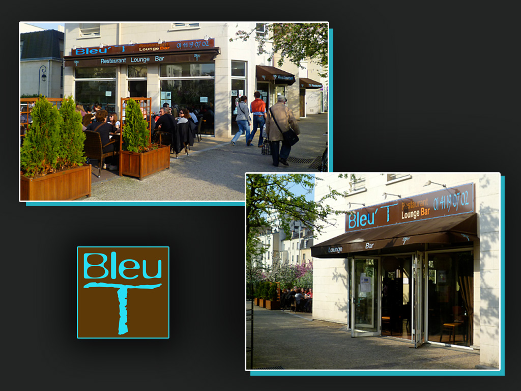 RESTAURANT BLEU T by ANOZER on DeviantArt ~ Bleu T Bois Colombes