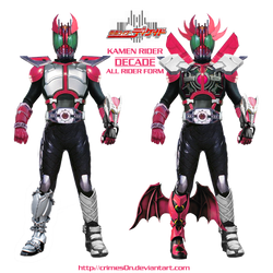 Kamen Rider Decade: All Rider Form by crimes0n