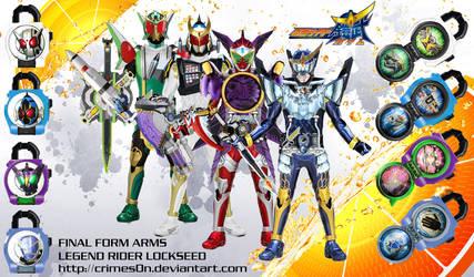 Neo Heisei Kamen Rider Final Form Arms