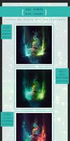 Sea Nymph {Collab Process} by XillaReborn