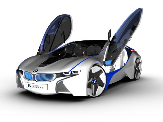 BMW Vision (Gullwing Doors Opened) by jenishmaru on DeviantArt