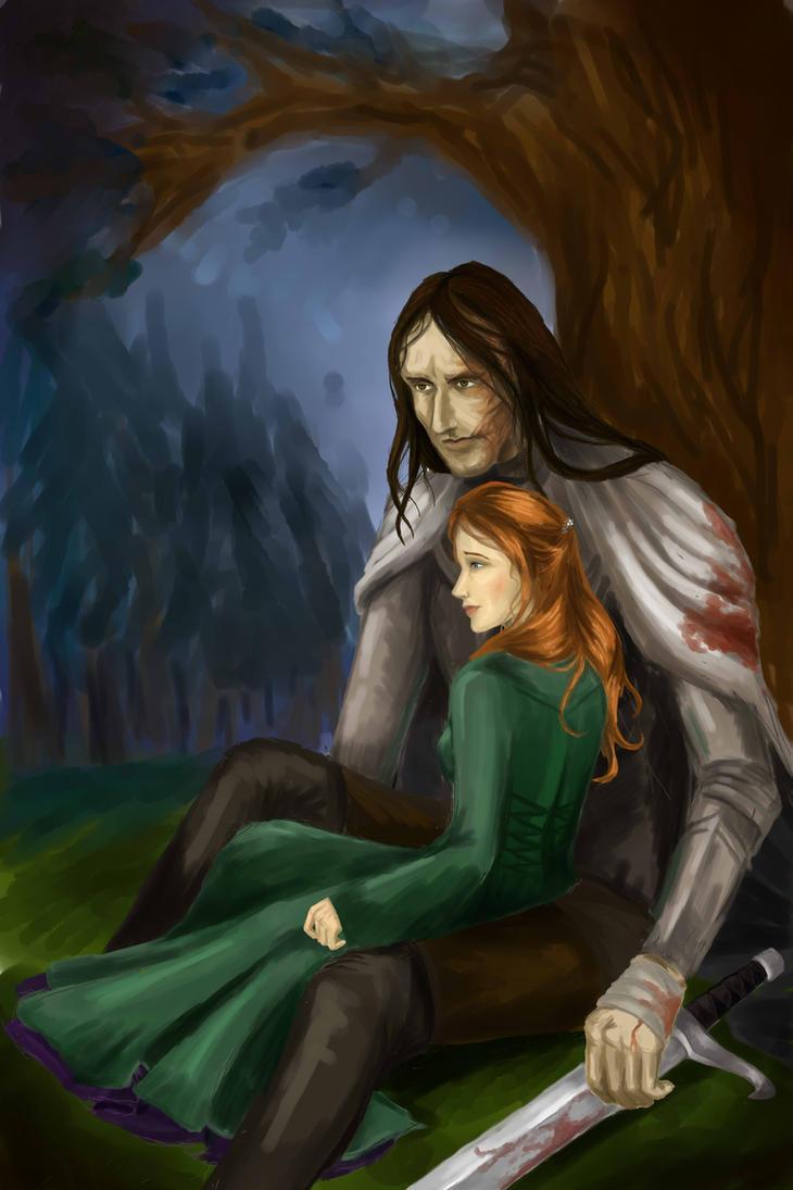 Sandor Clegane and Sansa Stark by Vertials on DeviantArt