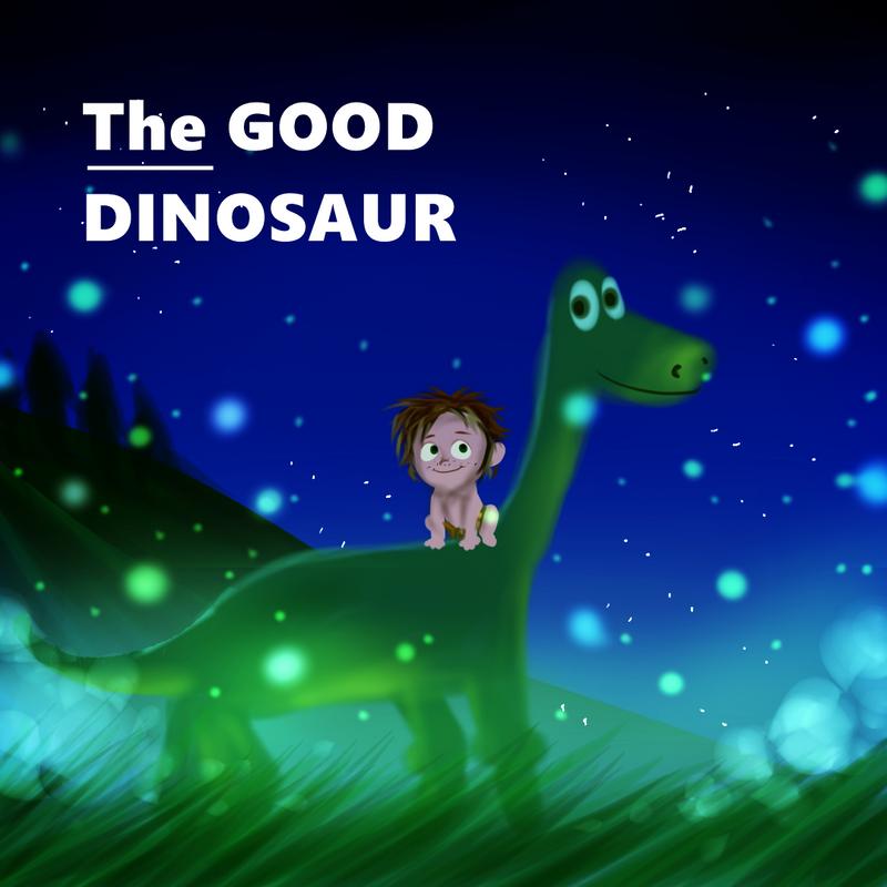 The Good Dinosaur Fanart by Jellechu