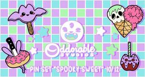. Spooky Sweet Enamel Pins