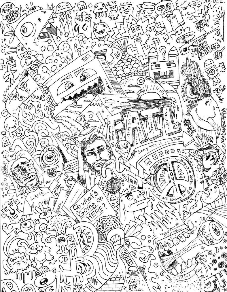 Random Doodle Time By Jamesthe4 On Deviantart