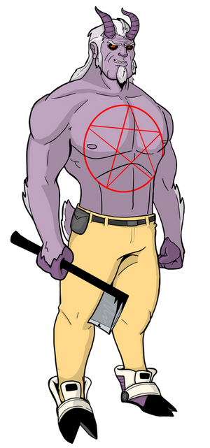 Goat Man Character Model