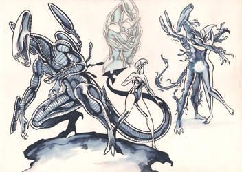 Predakonn, Genesis by CaptainNinja