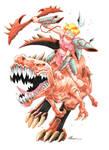 Lisandra, Dino Rider