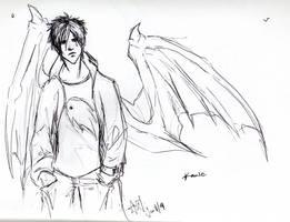 Kamie sketch by silverwing24