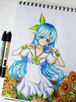 Sunflowers by Askari-chan