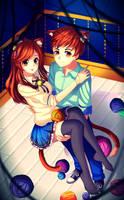 [Speedpaint] CatlovE by Askari-chan