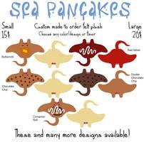 Sea Pancake Advert