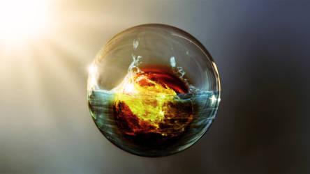 bubble by Dobermann7
