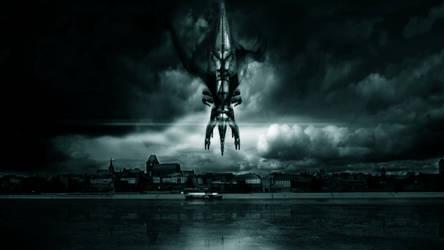 Reaper nad Toruniem by Dobermann7