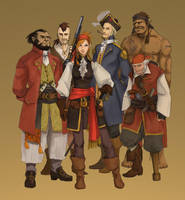Pirates by Werdandi