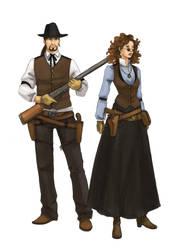 Gunslinger by Werdandi