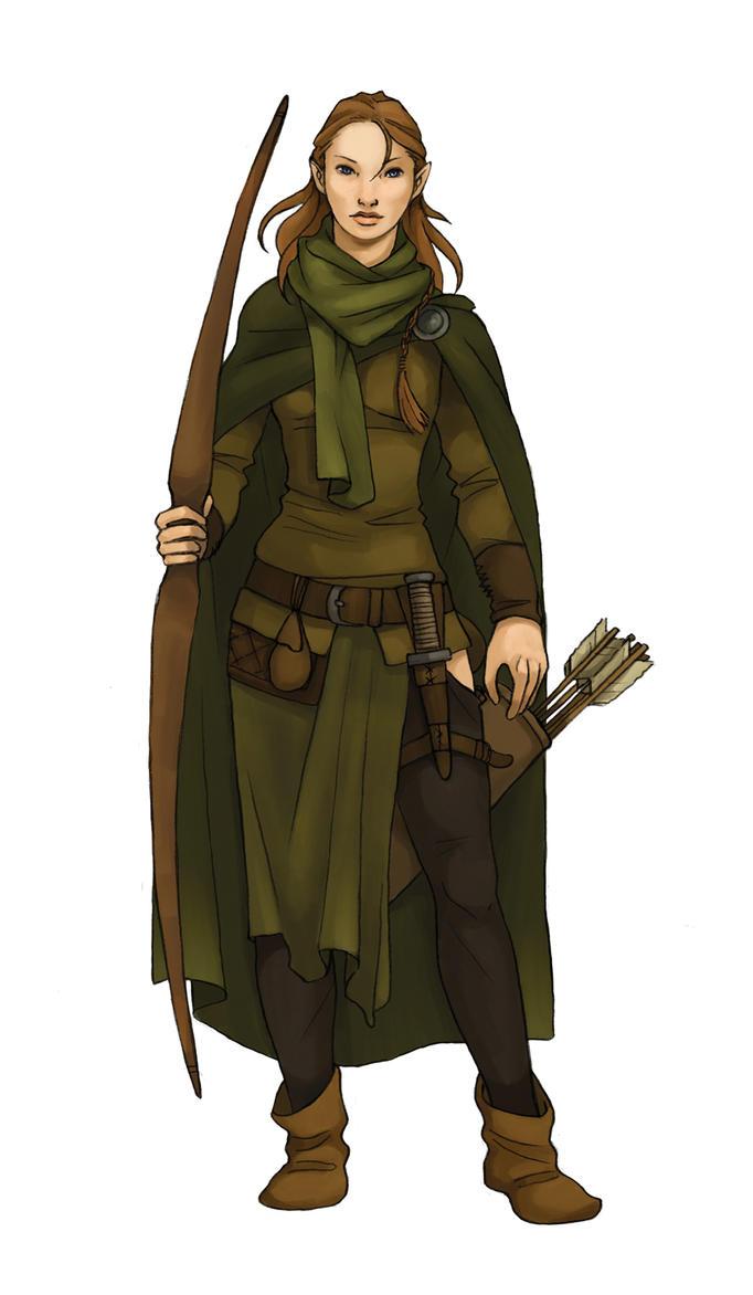 Elven Ranger By Werdandi On DeviantArt