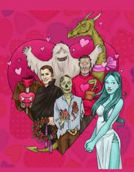Horror Valentine's cover by Werdandi