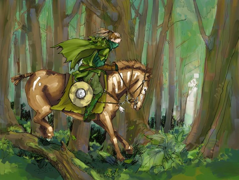wood elf by Werdandi