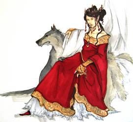 elven queen by Werdandi