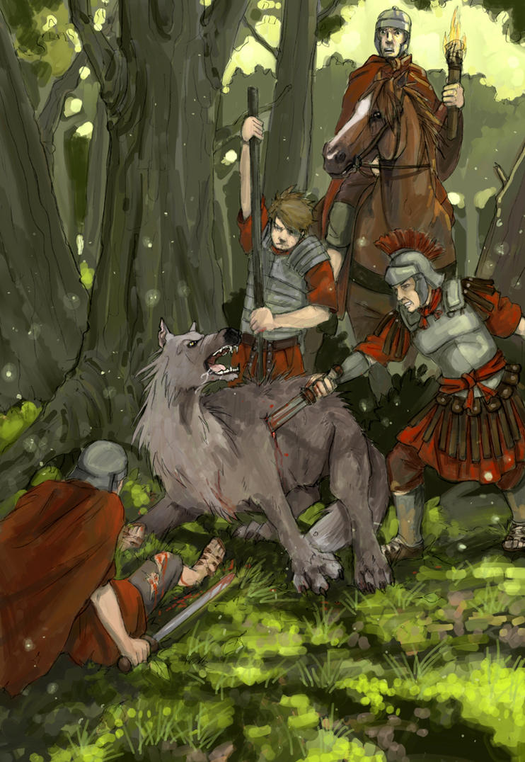 wolf hunt by Werdandi