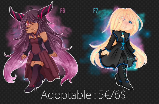 [CLOSED] PAYPAL ONLY Adoptables Girls