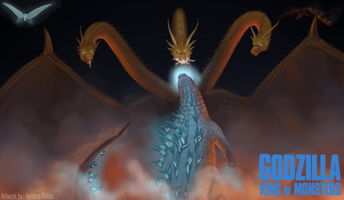 King of Monsters by VenturaSalas