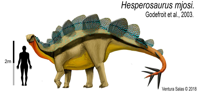 Hesperosaurus mjosi by VenturaSalas