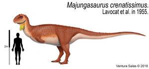 Majungasaurus crenatissimus.