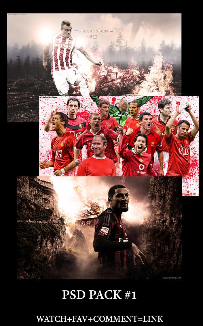 PSD PACK #1 by worldfootballartwork