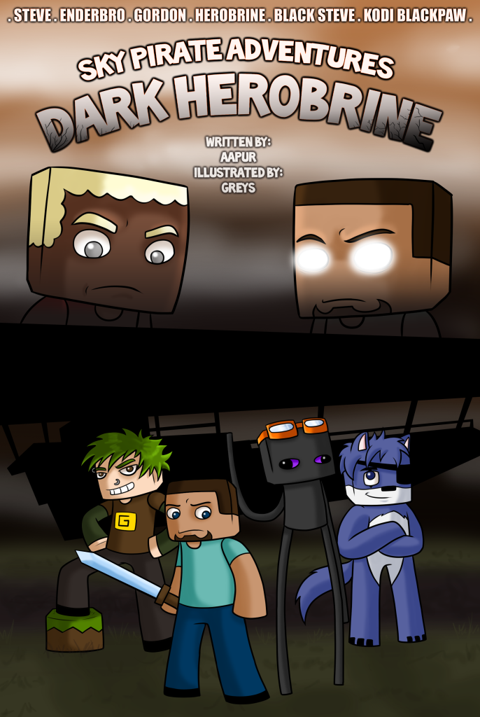 Skypirates Adventure - Dark Herobrine - Cover by Aapur