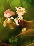 forest kids by liransz
