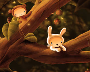 Forest kids 3 by liransz