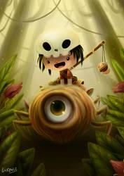 Cyclops Spider - Illustration tutorial- by liransz