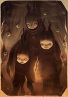 Three sisters by liransz