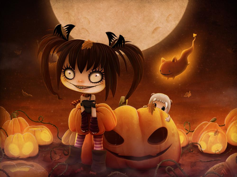 Halloween Hysteria by liransz