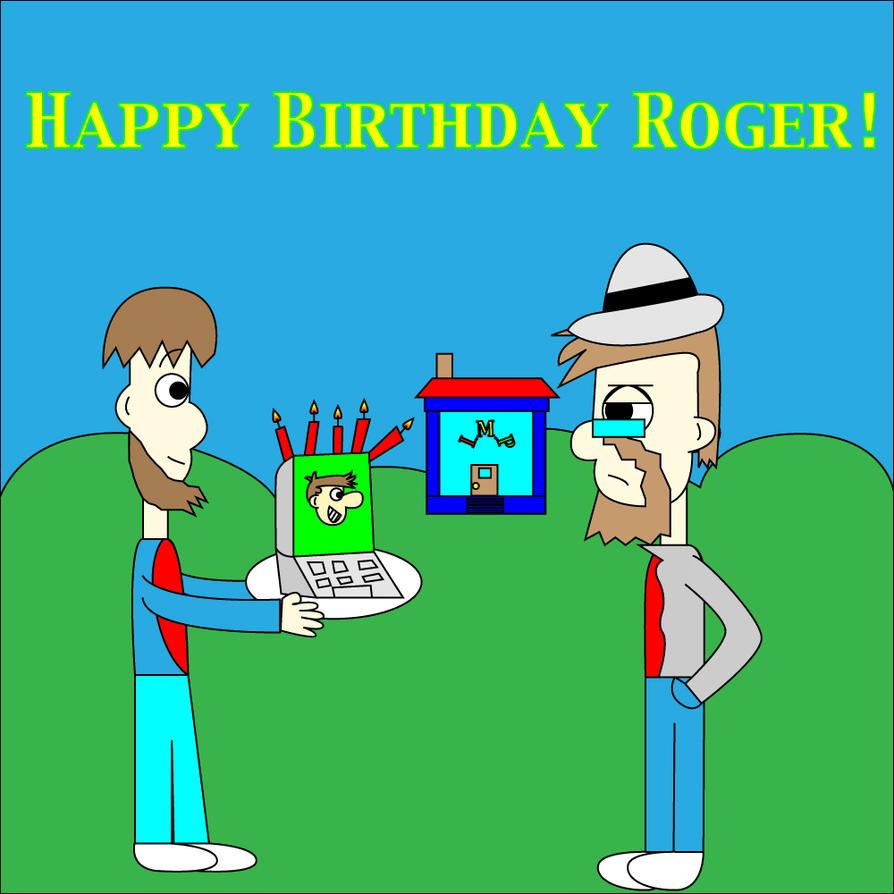 happy birthday roger d...