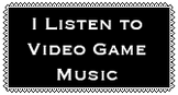 Video Game Music Stamp by MeltingMan234