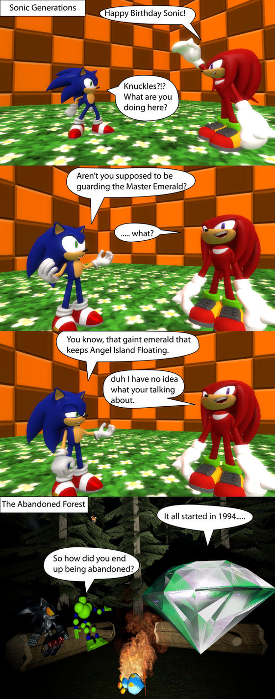 Knuckles the Idiot 3 by MeltingMan234